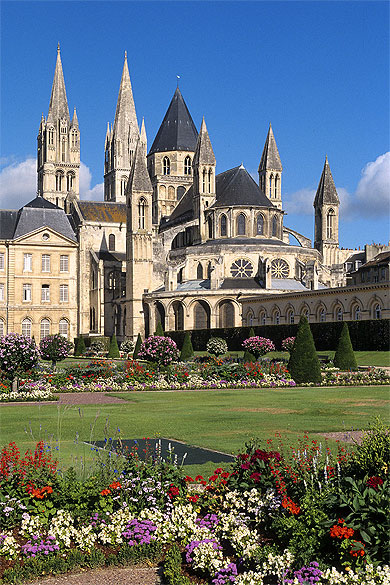 L'abbaye aux hommes, à Caen