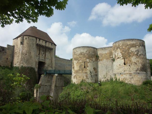 Le chateau de Guillaume le Conquérant, à Caen